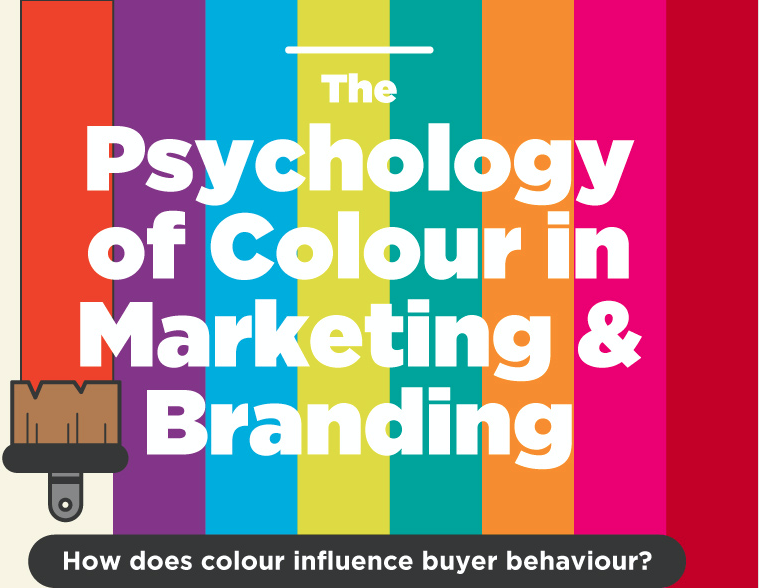 psychology of colour infographic