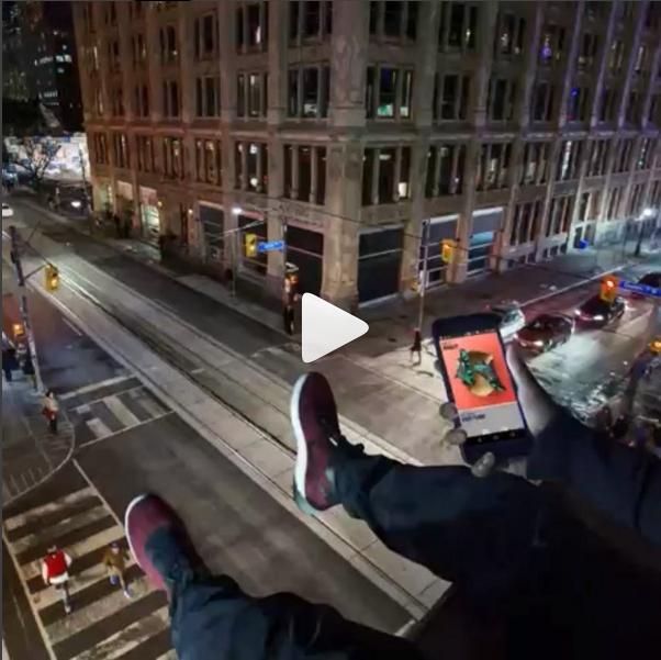 Nike instagram video