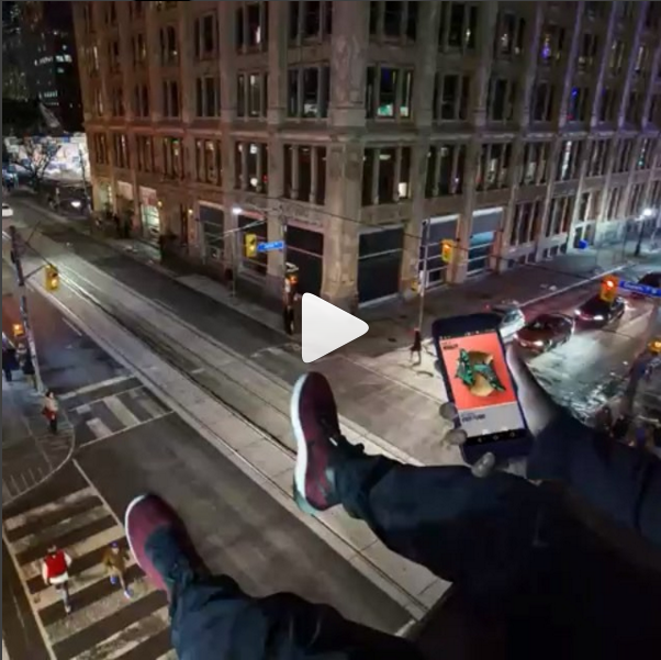 Nike instagram video