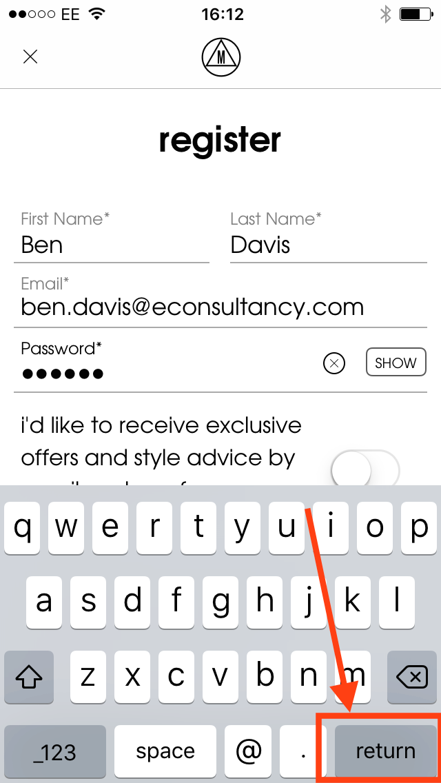 missguided app