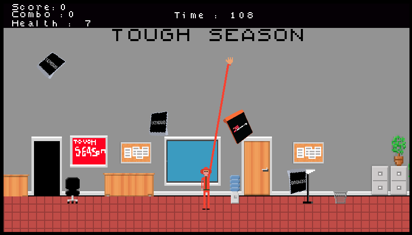 Lenovo Tough Season 8-bit game winner