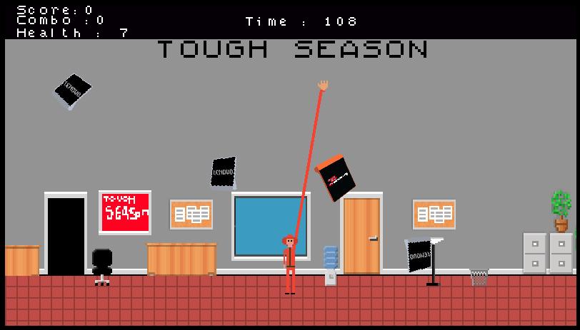 Lenovo Tough Season 8-bit game winner