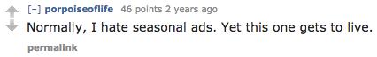 Maker's Mark Reddit campaign comments