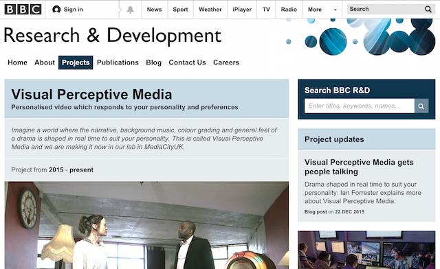 visual perceptive media