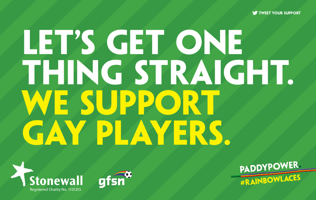 Pappy Power #RainbowLaces campaign