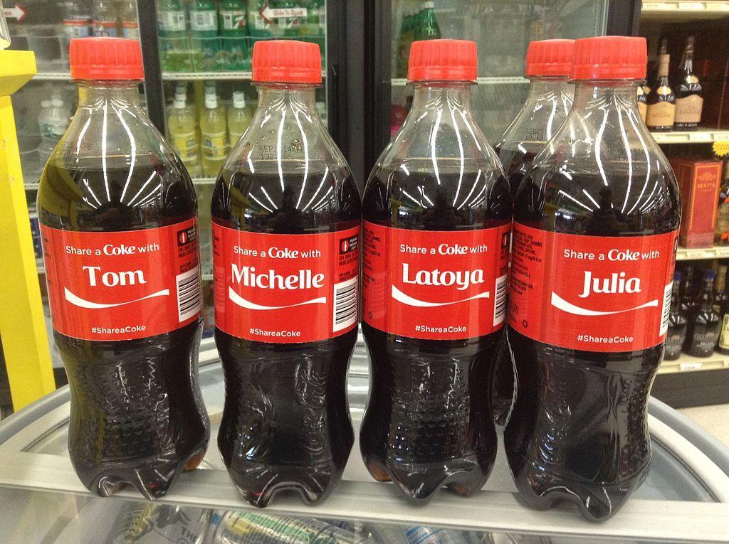 Coca-Cola #ShareACoke campaign