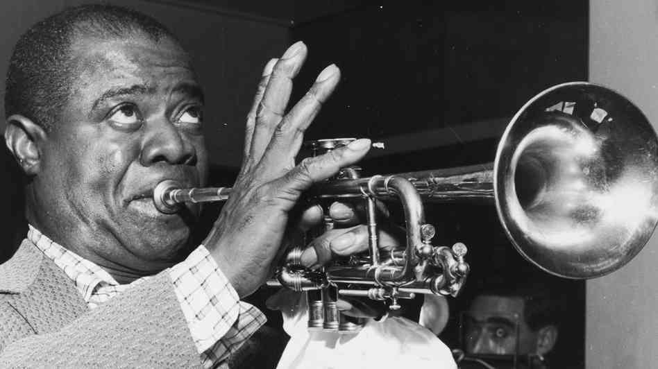 Jazz music Louis Armstrong