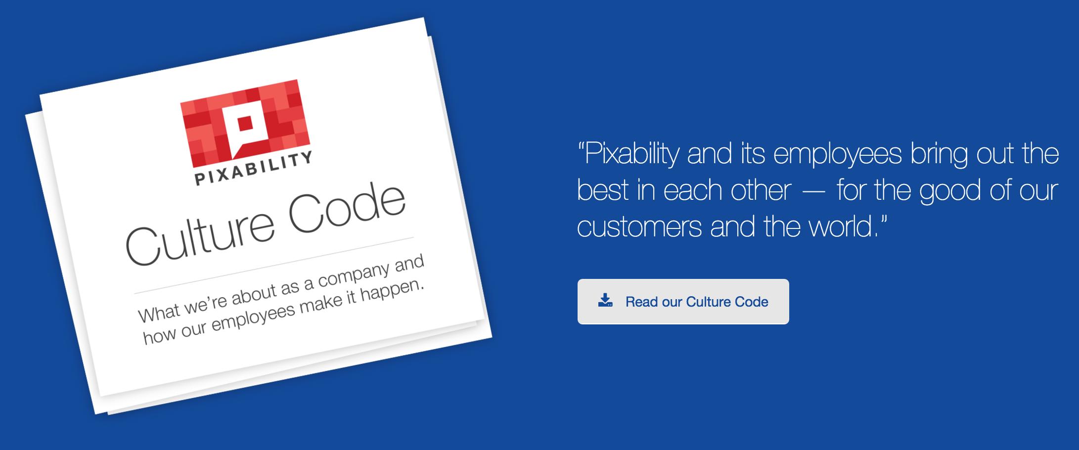 pixability culture code