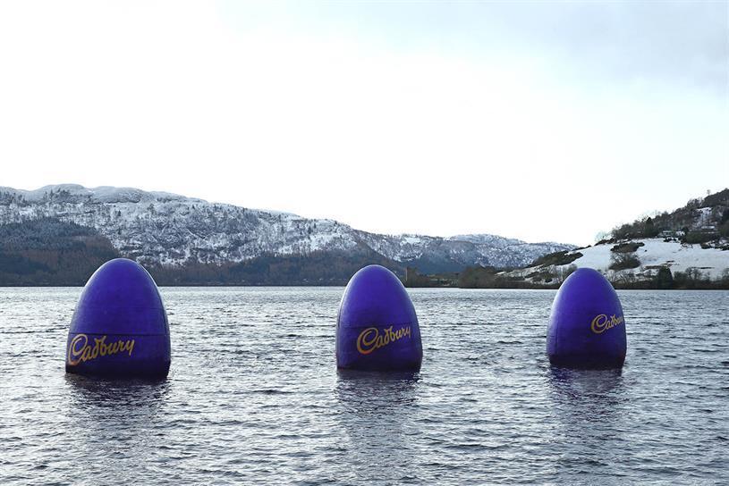 Cadbury's #EggsEverywhere campaign