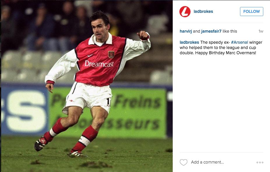 Ladbrokes Instagram