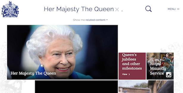 royal.uk queen