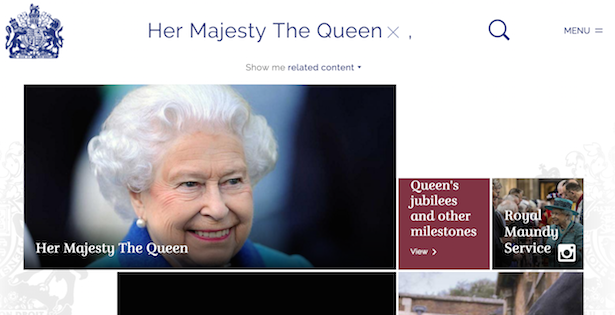 royal.uk queen