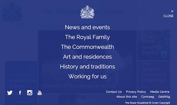 menu royal.uk