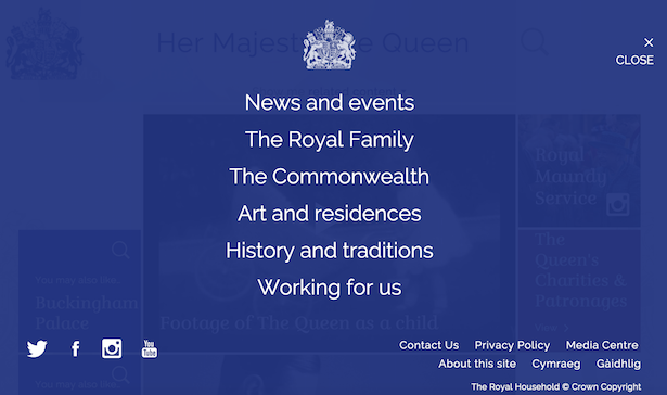 menu royal.uk