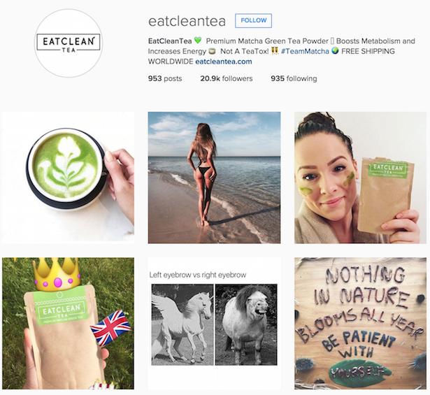 instagram eatcleantea