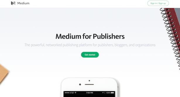 medium for publishers