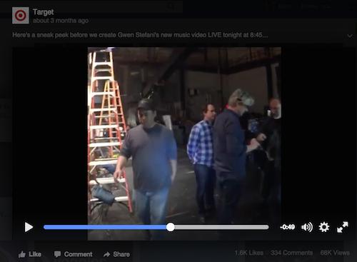 target facebook live