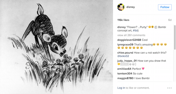 disney instagram