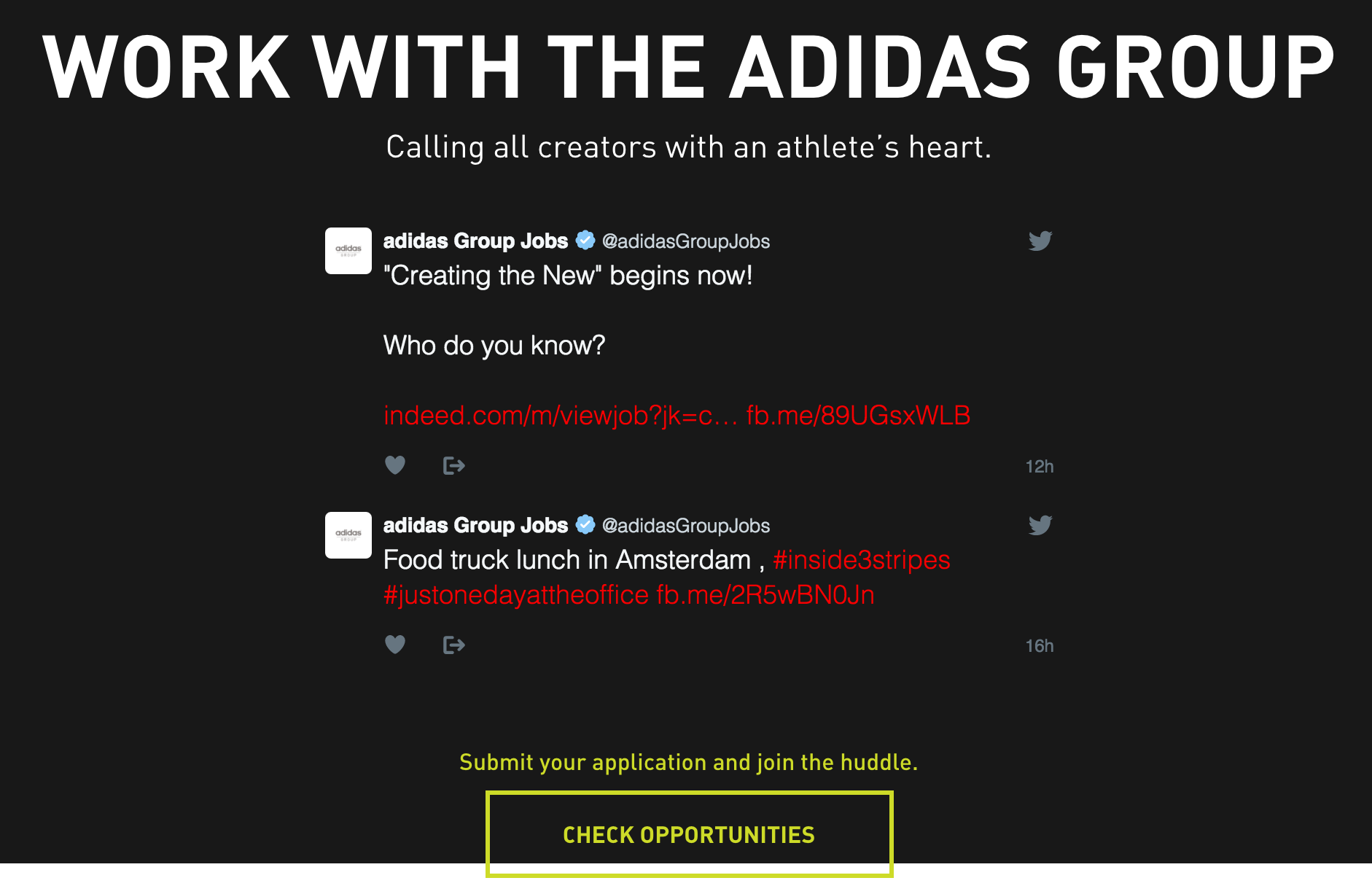 George Stevenson punto final Oh  Adidas creates B2B content to help with recruitment – Econsultancy