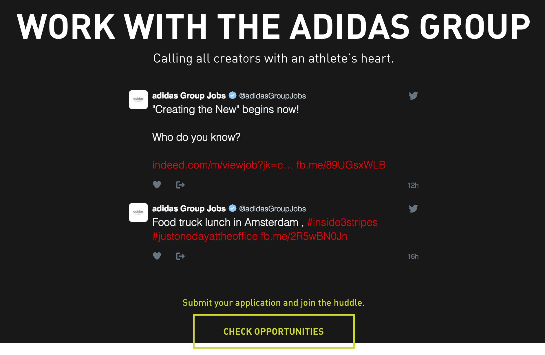 careers adidas