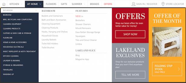 lakeland menu 2016