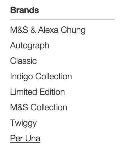 m&s labels
