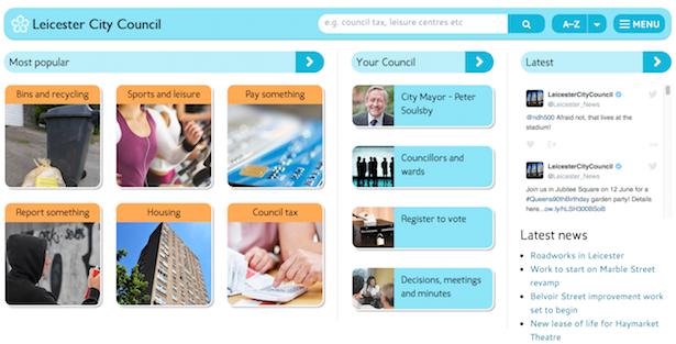 leicester city council website