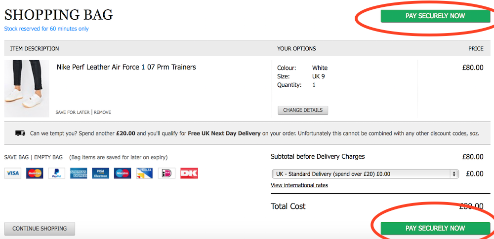 Eight Ecommerce Checkout Design Features That Make Asos Great Econsultancy