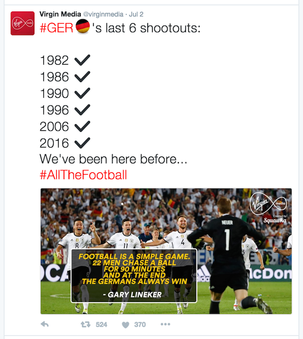 squawka virgin media tweet