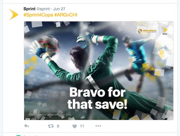 sprint tweet