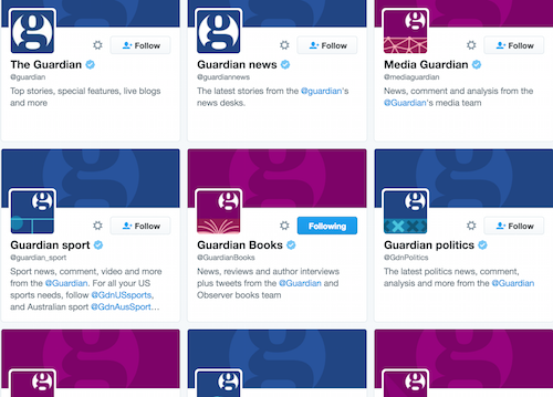 guardian twitter accounts