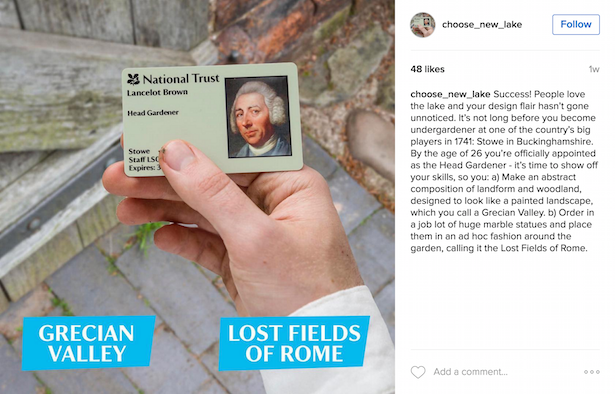 capability brown instagram game