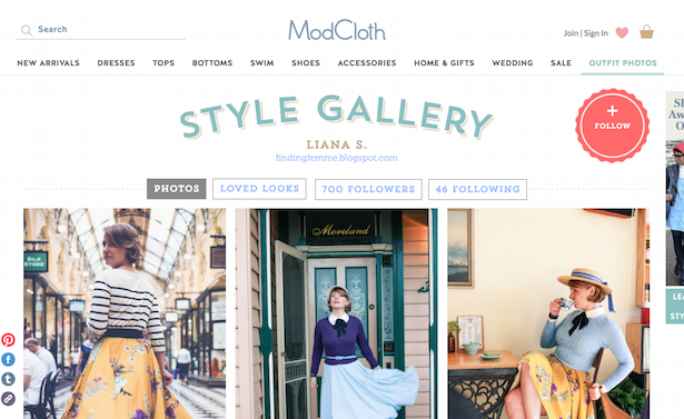 mod cloth style gallery