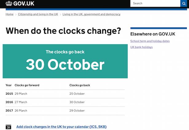 gov.uk page