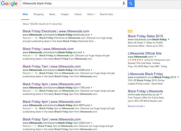 Black Friday Landing Pages Analysed Ao Com To Tesco Econsultancy