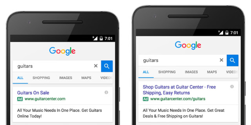 Google's new expanded PPC text ads: The impact on