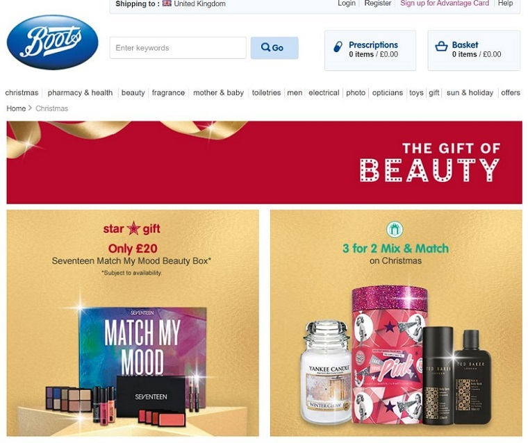 12 examples of early Christmas marketing from online retailers
