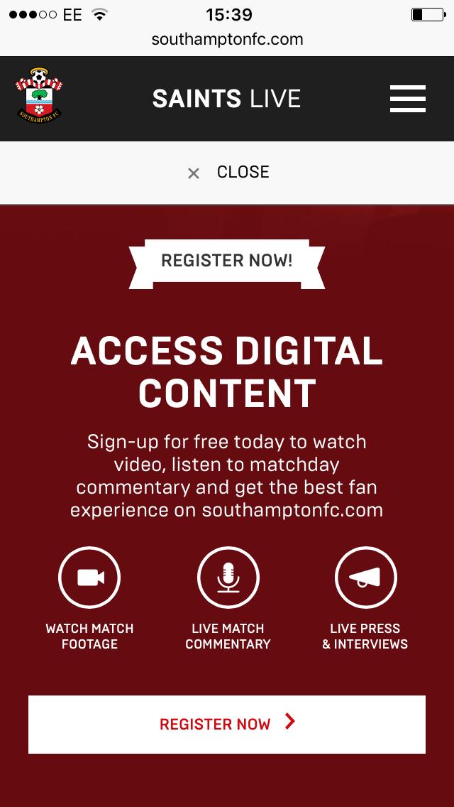 southampton fc website