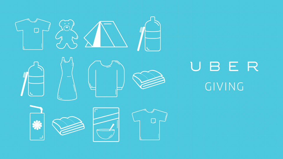 uber giving