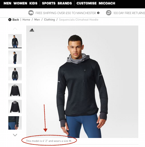 0c1b72cf9fd0 Nike vs. Adidas vs. Under Armour  Which has the best product pages ...