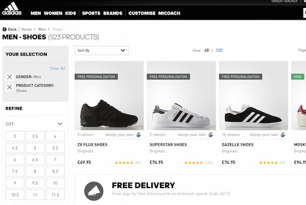 adidas category