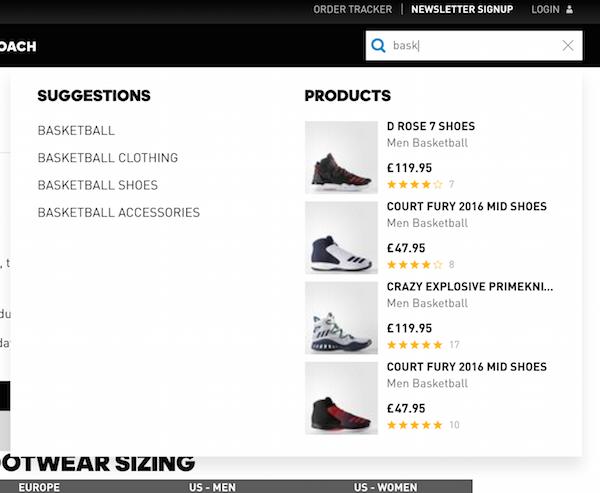 camino Duplicación lección  Nike vs. Adidas vs. Under Armour: Site navigation comparison – Econsultancy