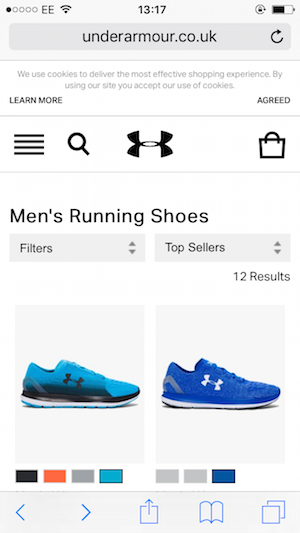 UNDER ARMOUR MOBILE