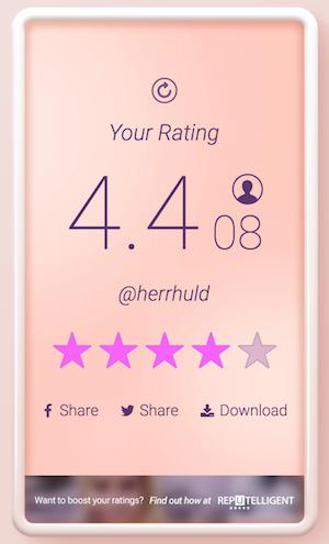 rate me app