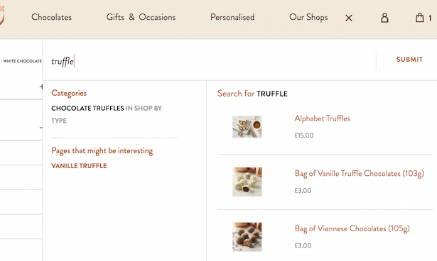 search truffles