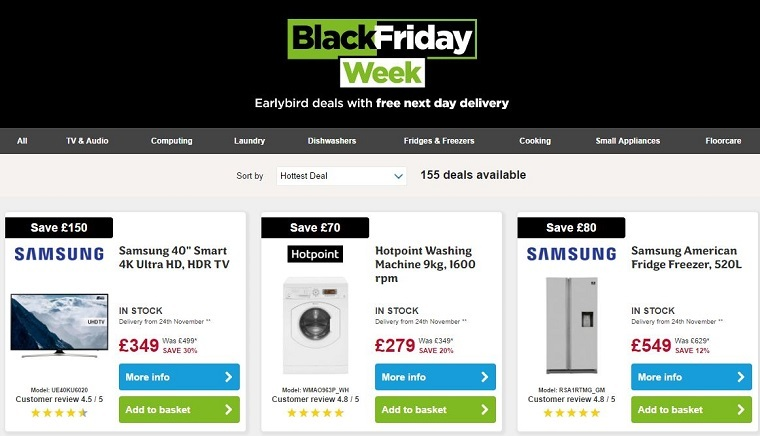 Digital Retailers in Spain Ramp Up Black Friday and Cyber Monday Sales