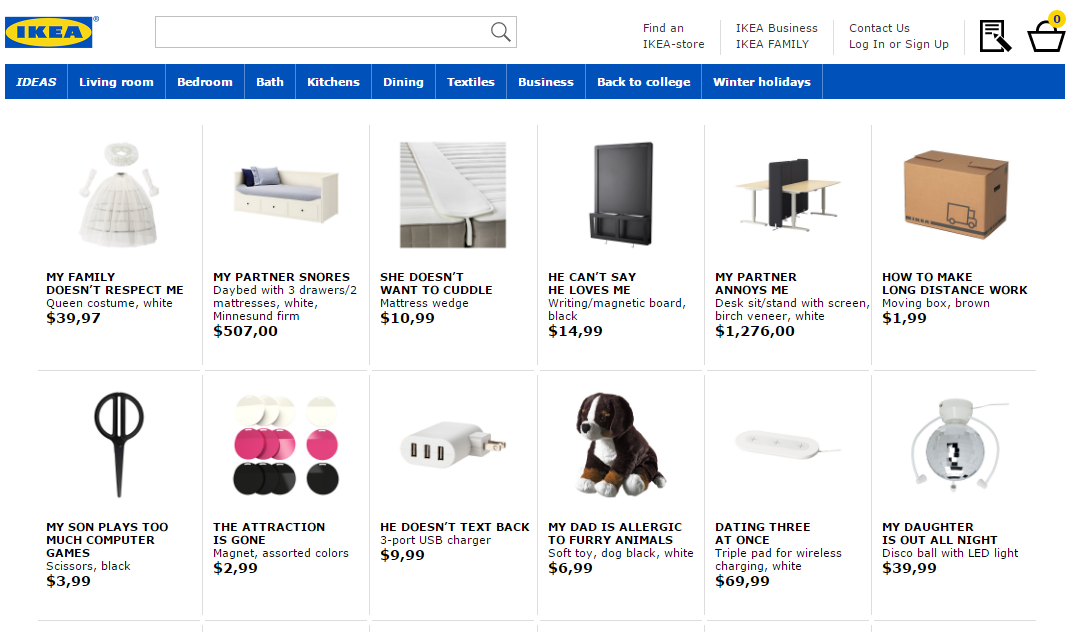 Ikea renames products for new SEO-focused Retail Therapy campaign