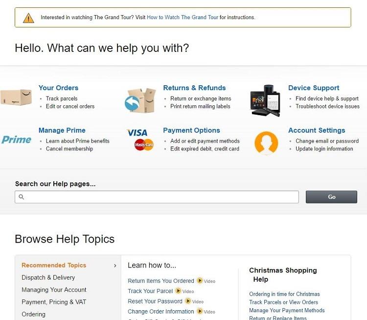 How 10 ecommerce sites present returns policies | Econsultancy