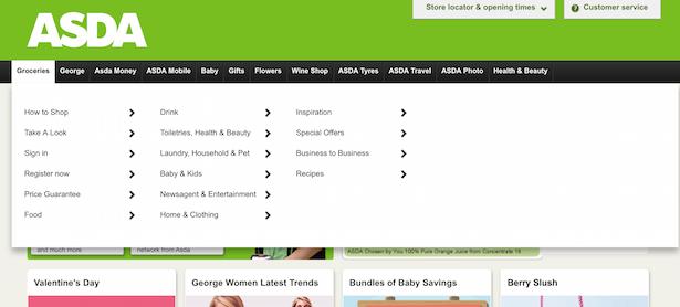 asda old website
