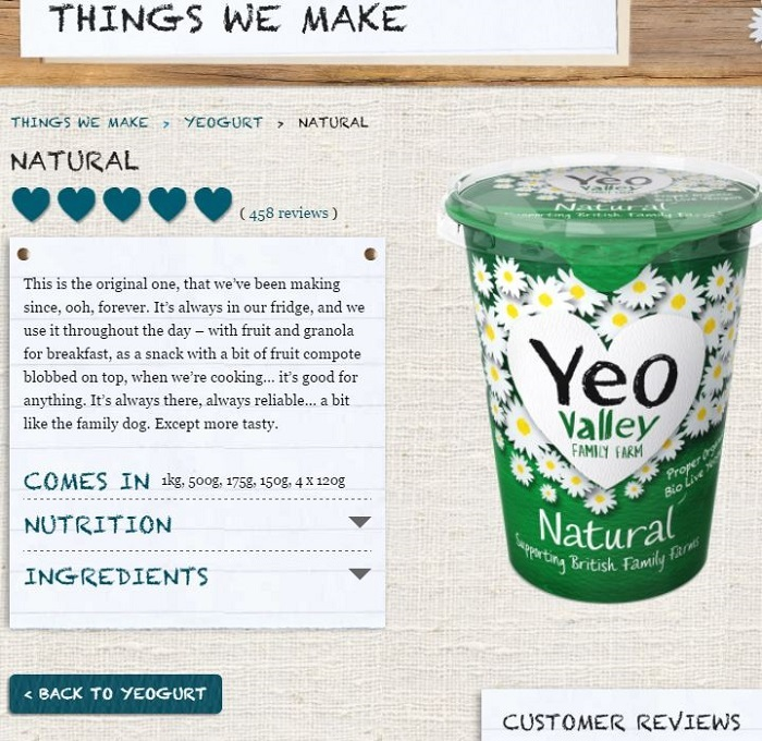 Four food brands with delicious copywriting – Econsultancy